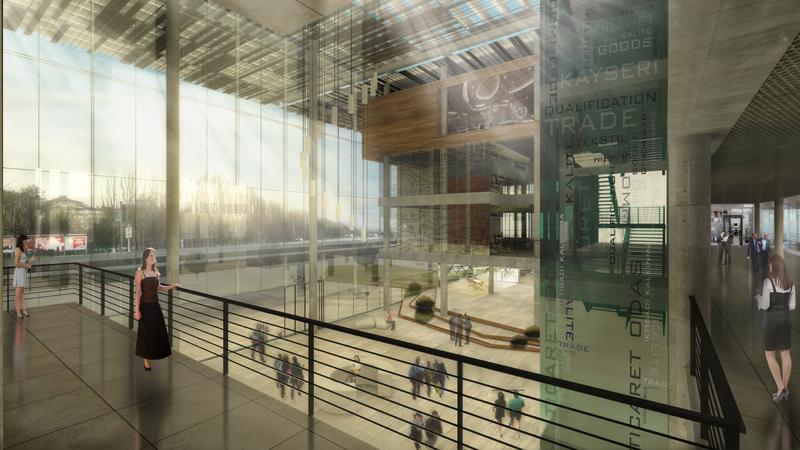 dodofis mimarlık ofisi hizmet binası hizmet binası giriş office building