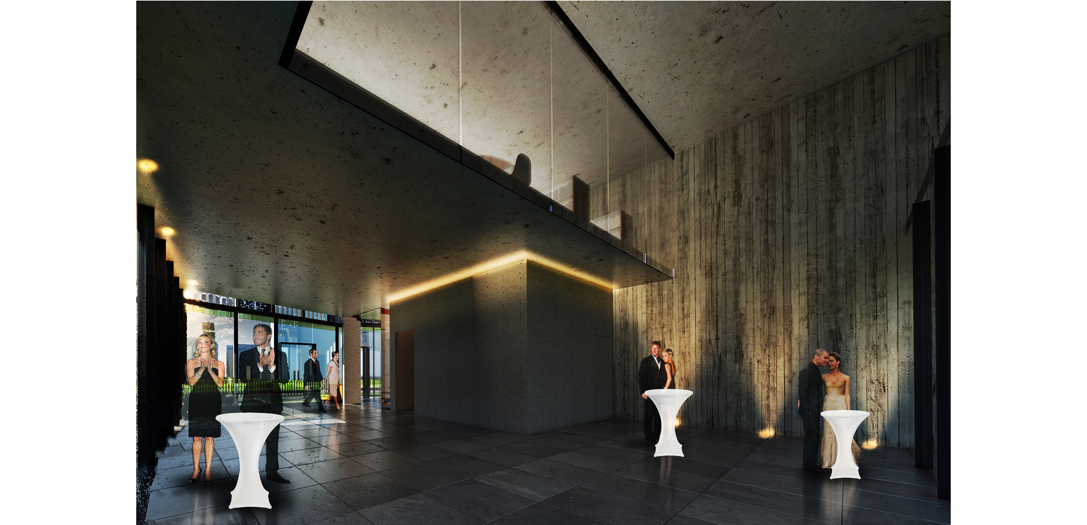 dodofis mimarlık ofisi  denizli mimarlar odası binası iç mekan render Chamber Of Architects