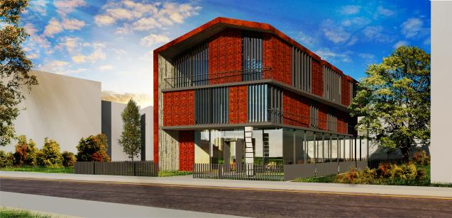 dodofis mimarlık ofisi  denizli mimarlar odası binası render Chamber Of Architects
