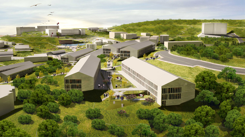 düzce üniversitesi gelişim planı kentsel tasarım dodofis mimarlık render 3