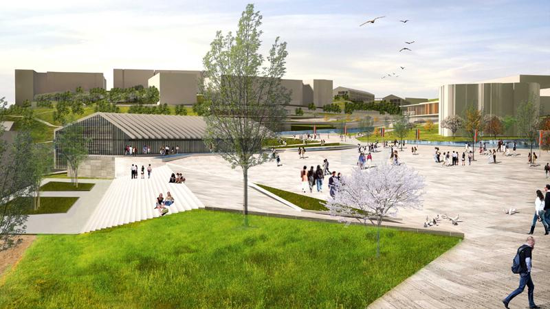 düzce üniversitesi gelişim planı kentsel tasarım dodofis mimarlık render 4
