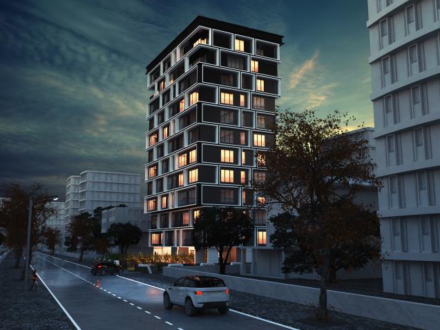 dodofis mimarlık ofisi istanbul kentsel dönüşüm Kadıköy Konut Projesi Kadıköy housing project