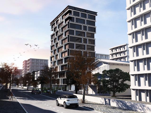 dodofis mimarlık ofisi istanbul kentsel dönüşüm kadıköy cephe görsel Kadıköy housing project