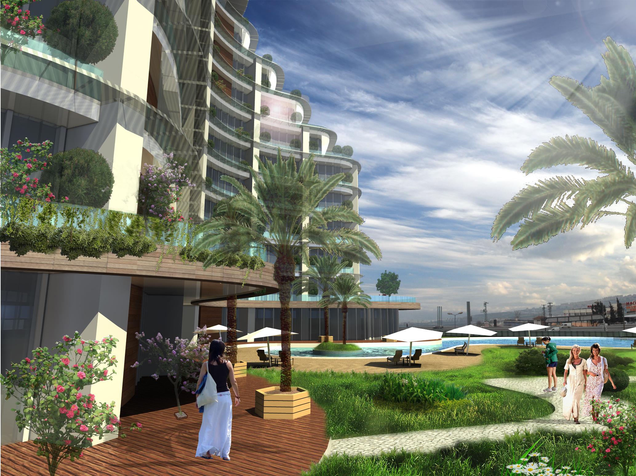 dodofis mimarlık ofisi istanbul konut projesi