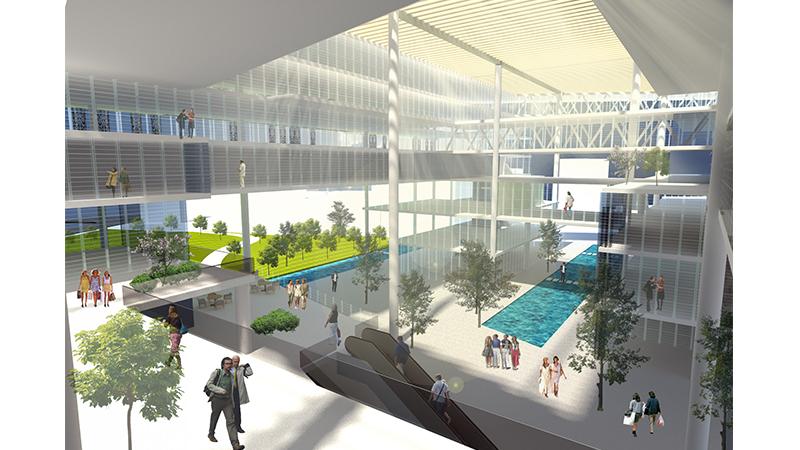 dodofis mimarlık ofisi Mersin ticaret odası hizmet binası görsel 3 Chamber of Industry and Commerce Office Building