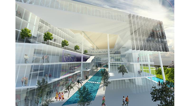 dodofis mimarlık ofisi mersin ticaret odası görsel 4 Chamber of Industry and Commerce Office Building