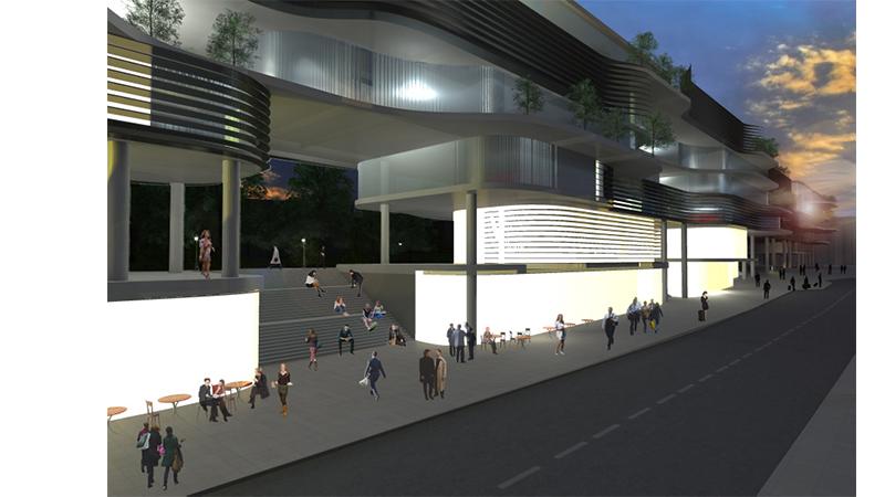 dodofis mimarlık ofisi taksim meydanı gezi parkı fırat doğan render 2