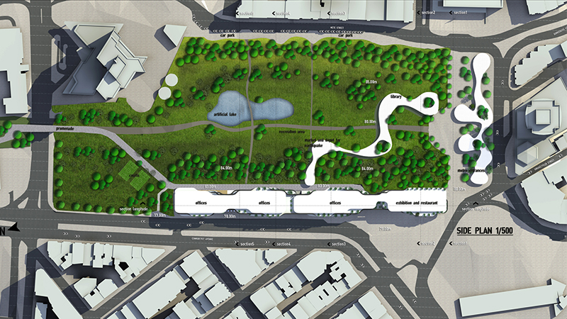 dodofis mimarlık ofisi taksim meydanı gezi parkı fırat doğan vaziyet
