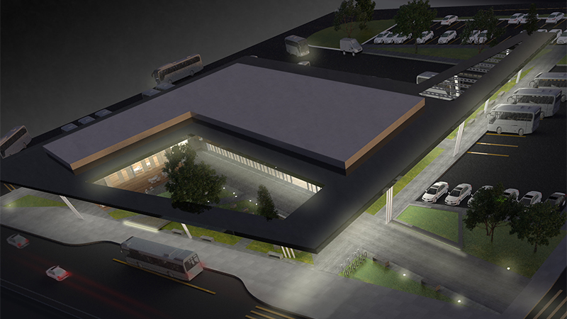 dodofis mimarlık ofisi  otobüs terminali bus terminal