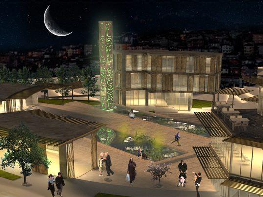 Halide Edip A. Mosque & Social Complex, 2012