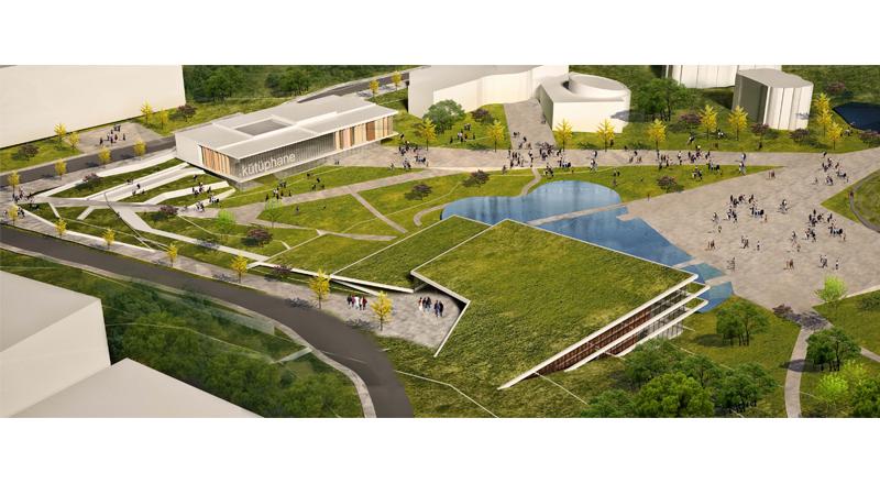 düzce üniversitesi gelişim planı kentsel tasarım dodofis mimarlık