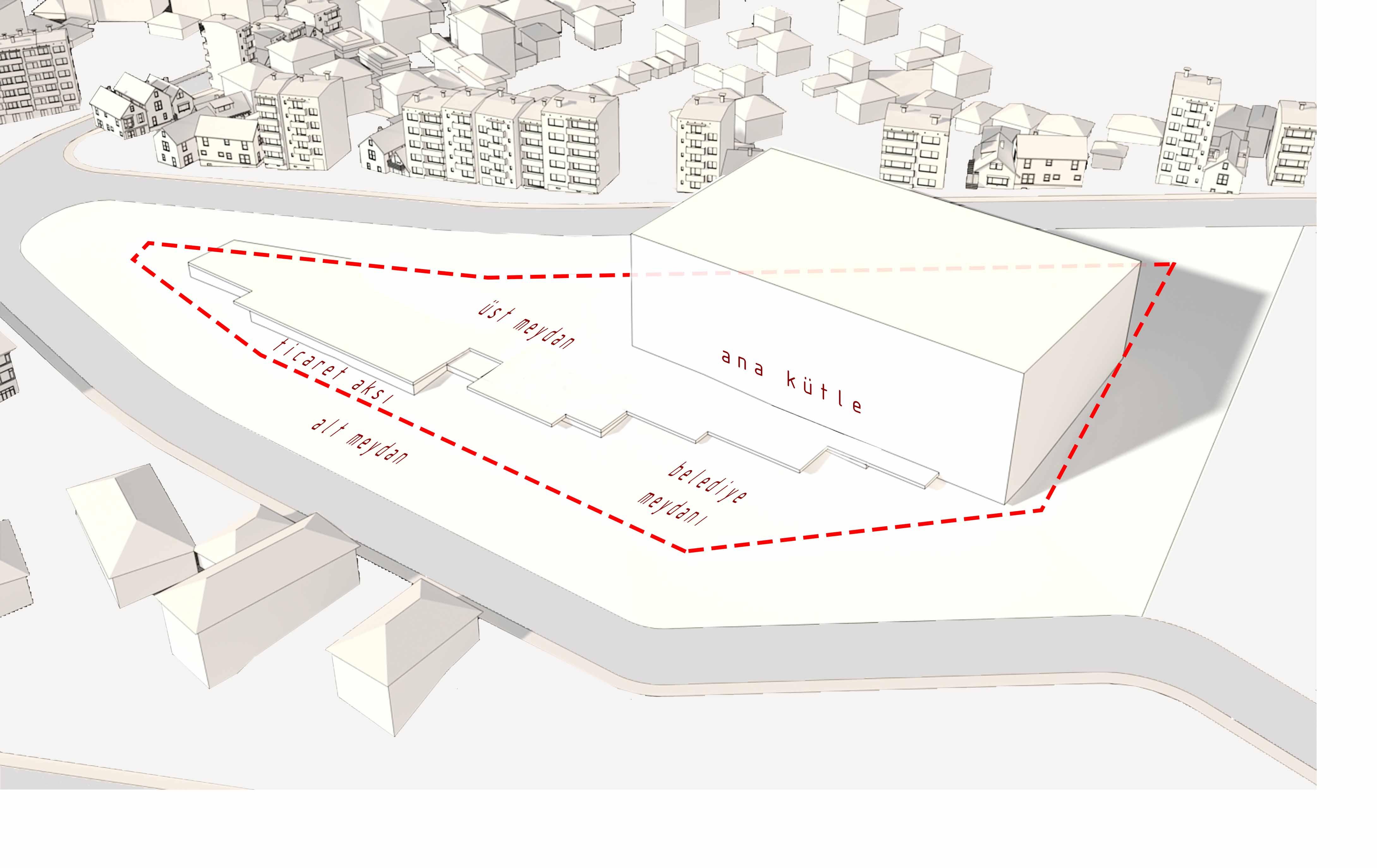 dodofis mimarlık ofisi süleymanpaşa belediye binası diyagram 2