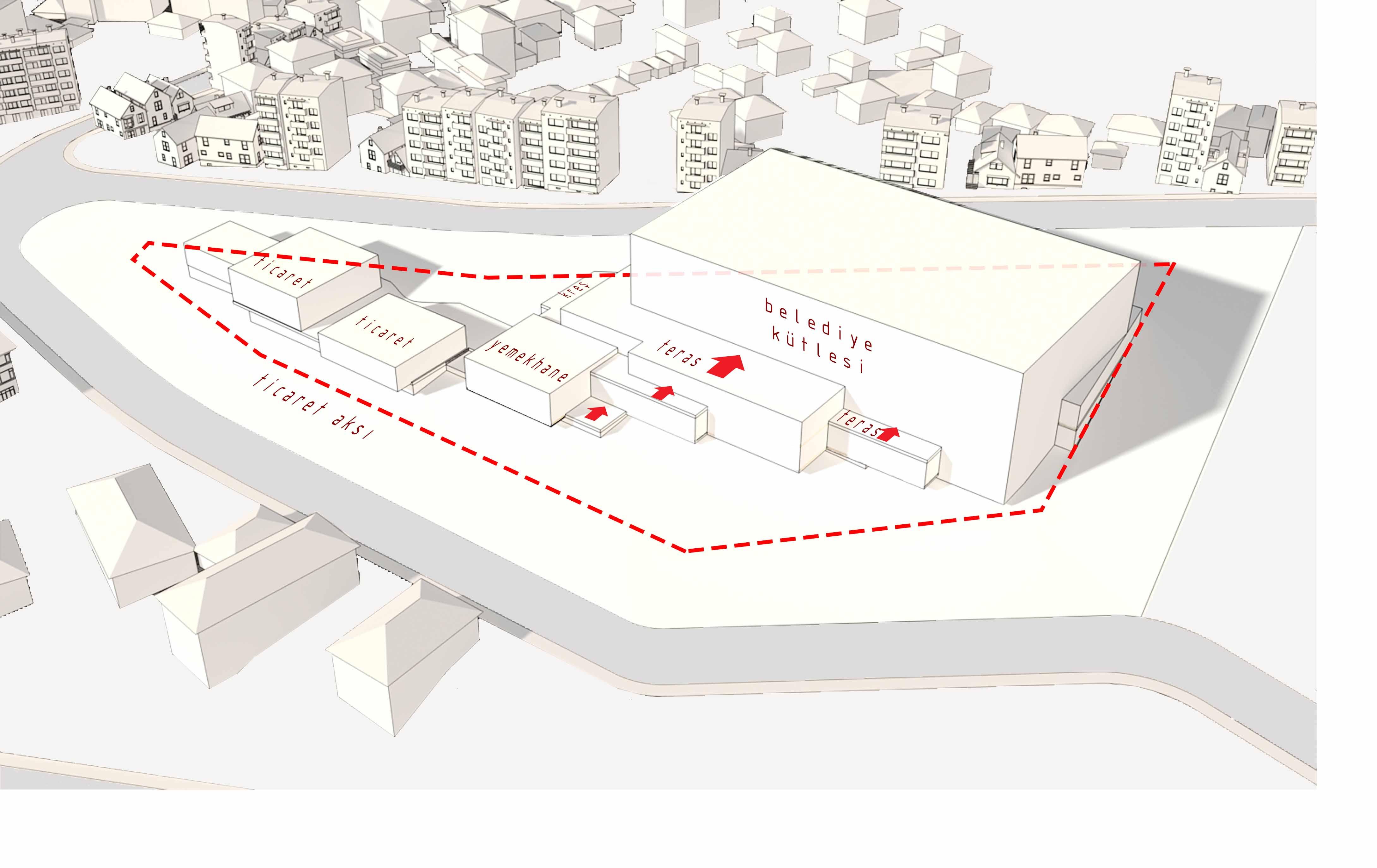 dodofis mimarlık ofisi süleymanpaşa belediye binası diyagram 3