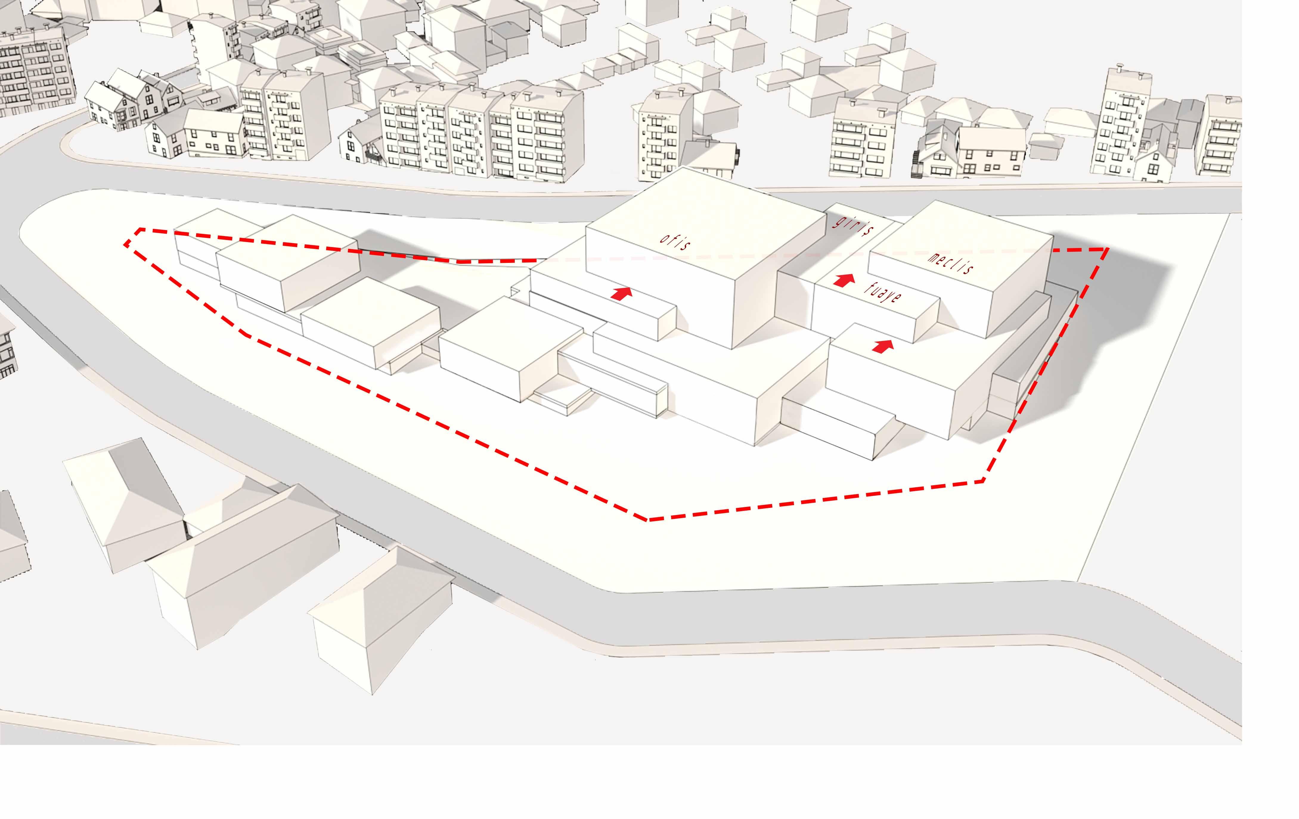 dodofis mimarlık ofisi süleymanpaşa belediye binası diyagram 4