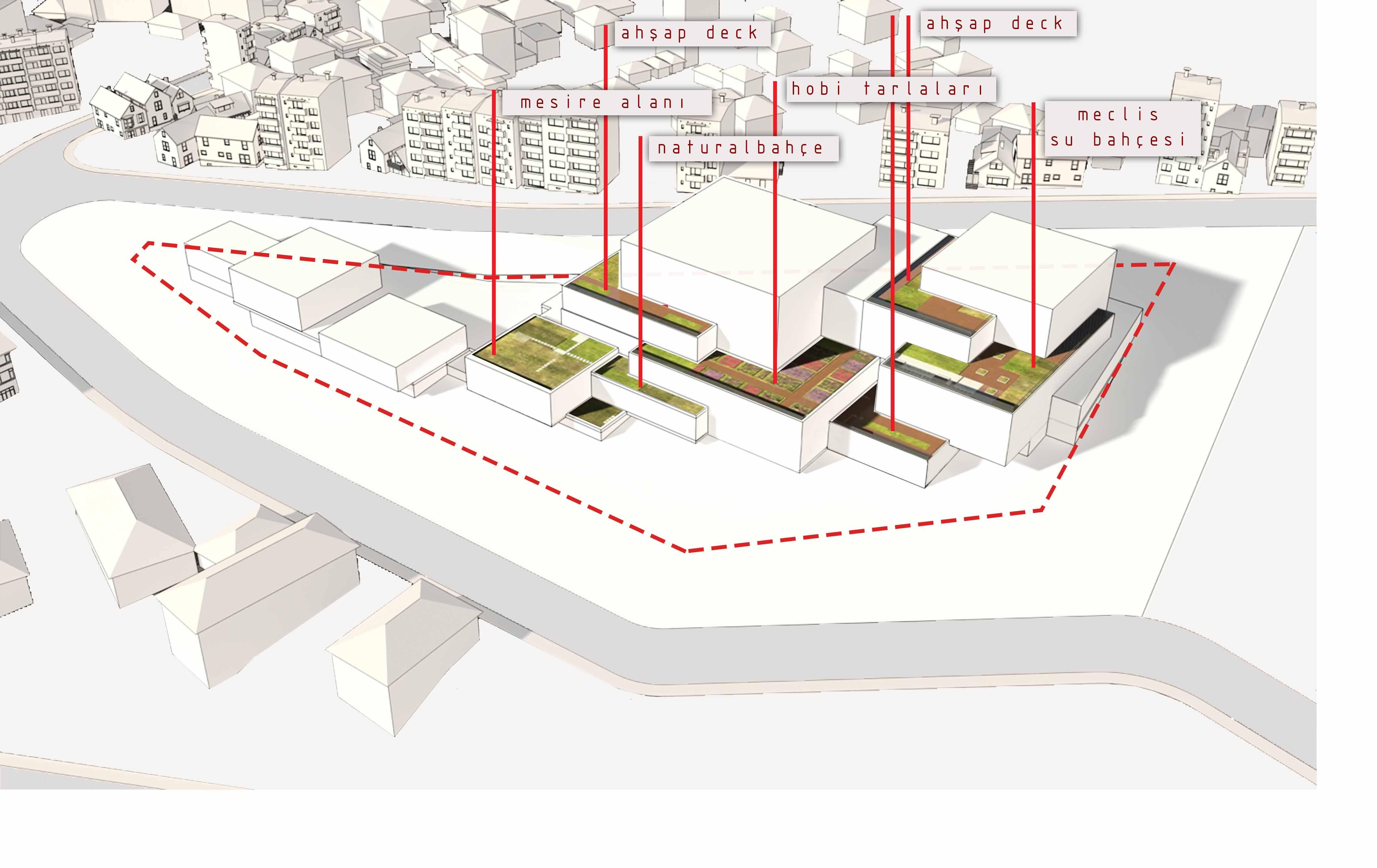 dodofis mimarlık ofisi süleymanpaşa belediye binası diyagram 5