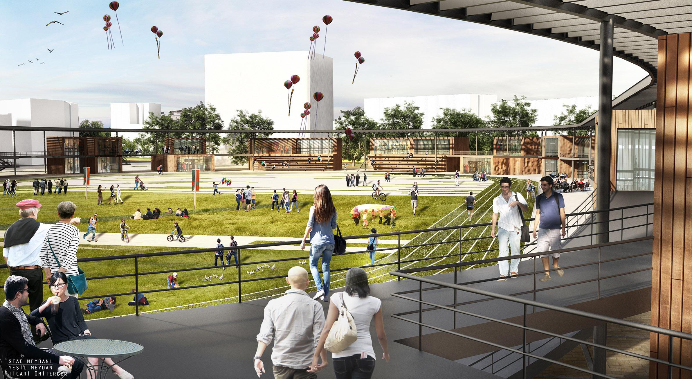 mersin tevfik sırrı gür stadyumu kentsel tasarım 04