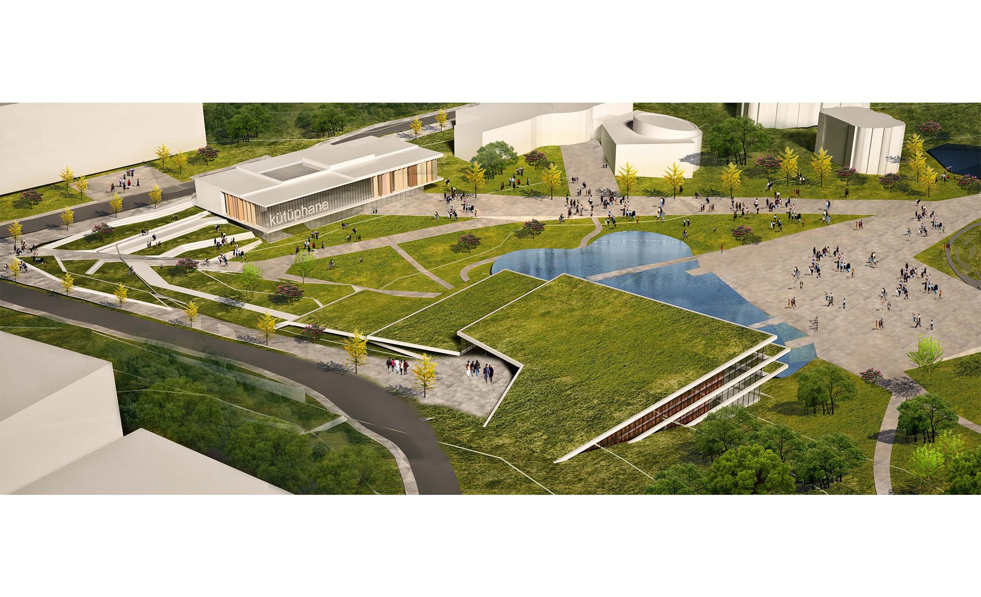 dodofis mimarlık üniversite kentsel tasarım master plan