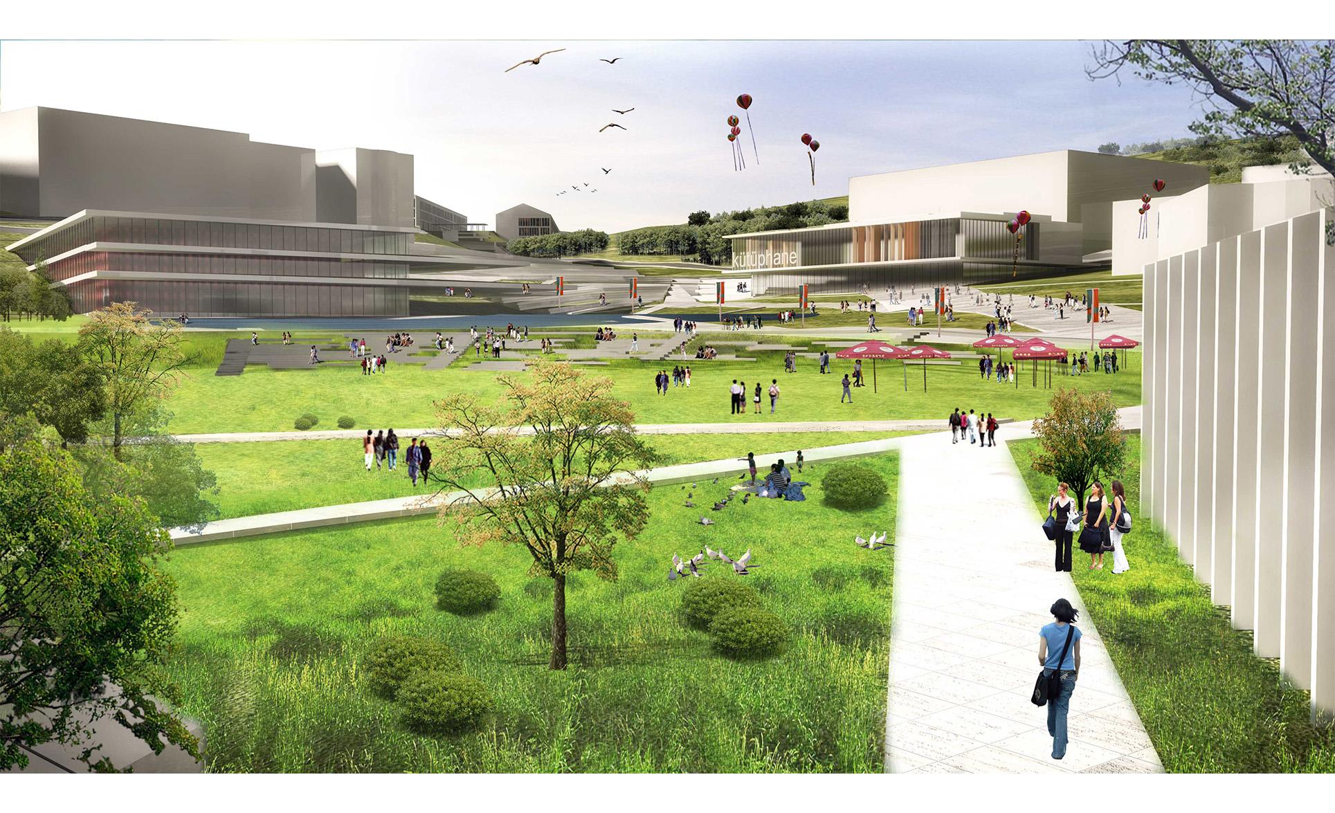 dodofis mimarlık üniversite master planı 2