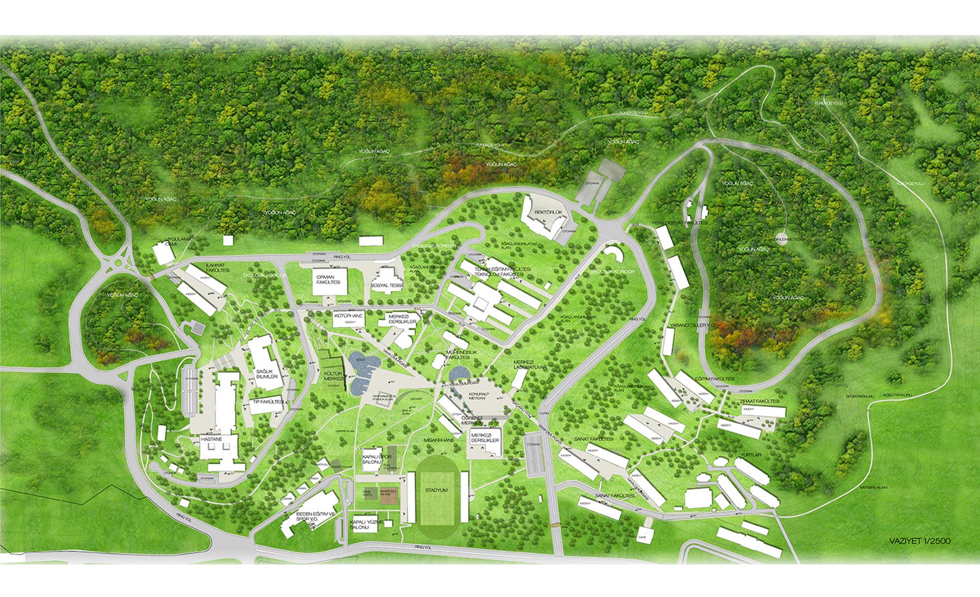 dodofis mimarlık üniversite master planı 4