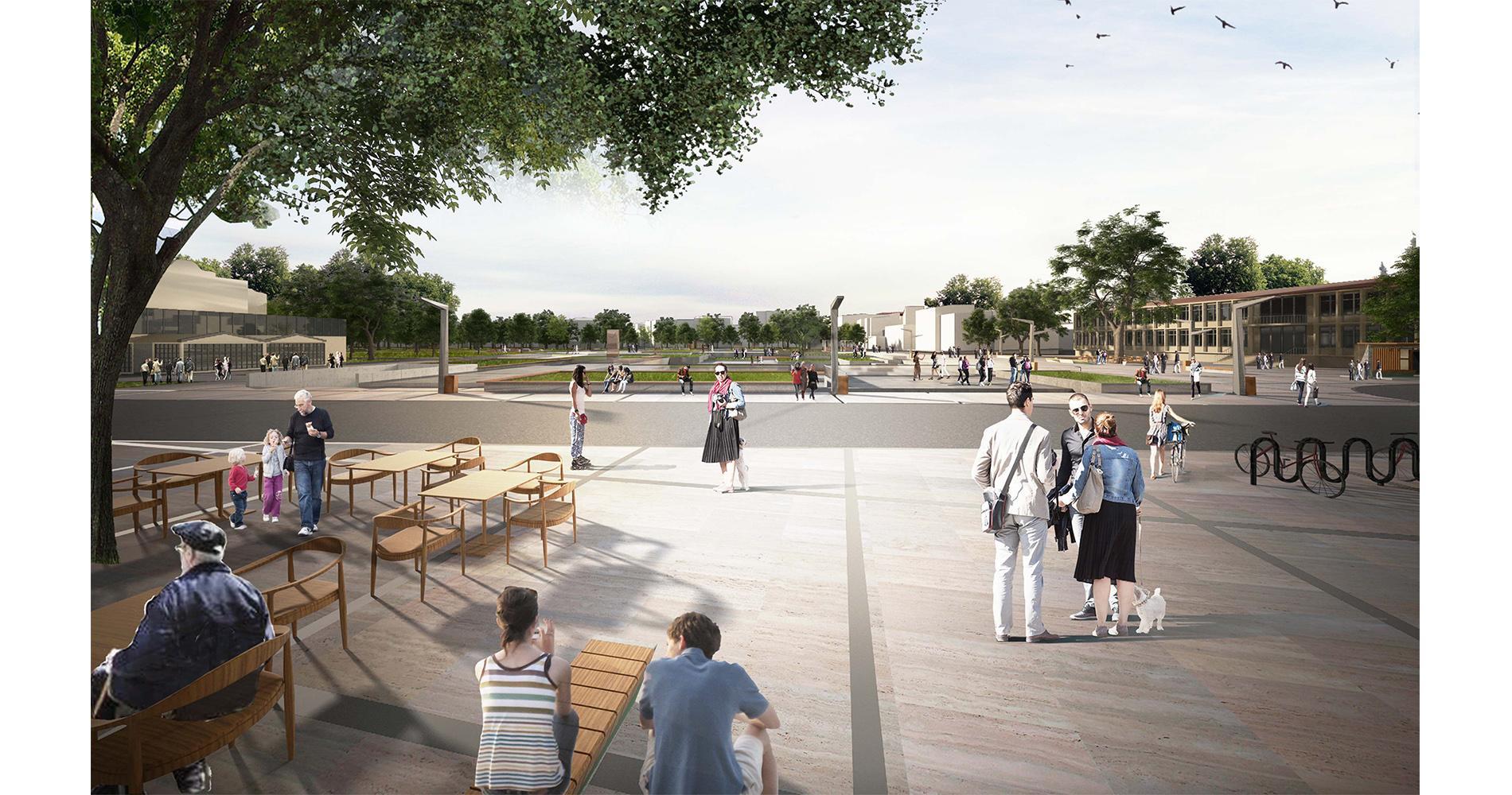 dodofis mimarlık akhisar kent meydanı