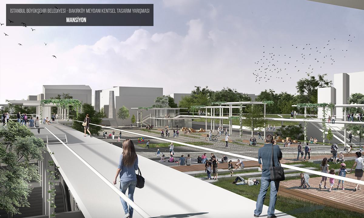 bakırköy meydanı kentsel tasarım yarışması