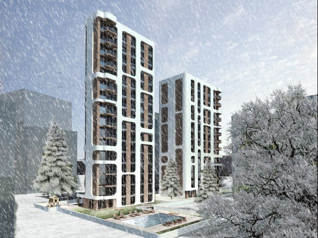 Kadıköy Housing / Urban Transformation, 2016