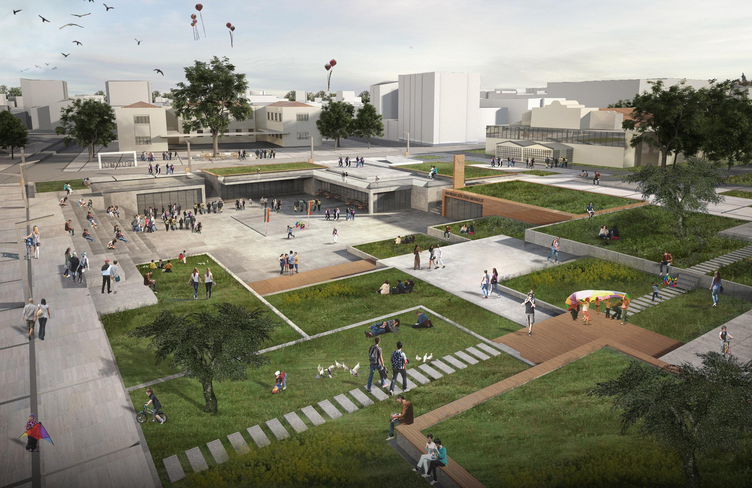 Akhisar Belediye Meydanı Kentsel Tasarım Projesi