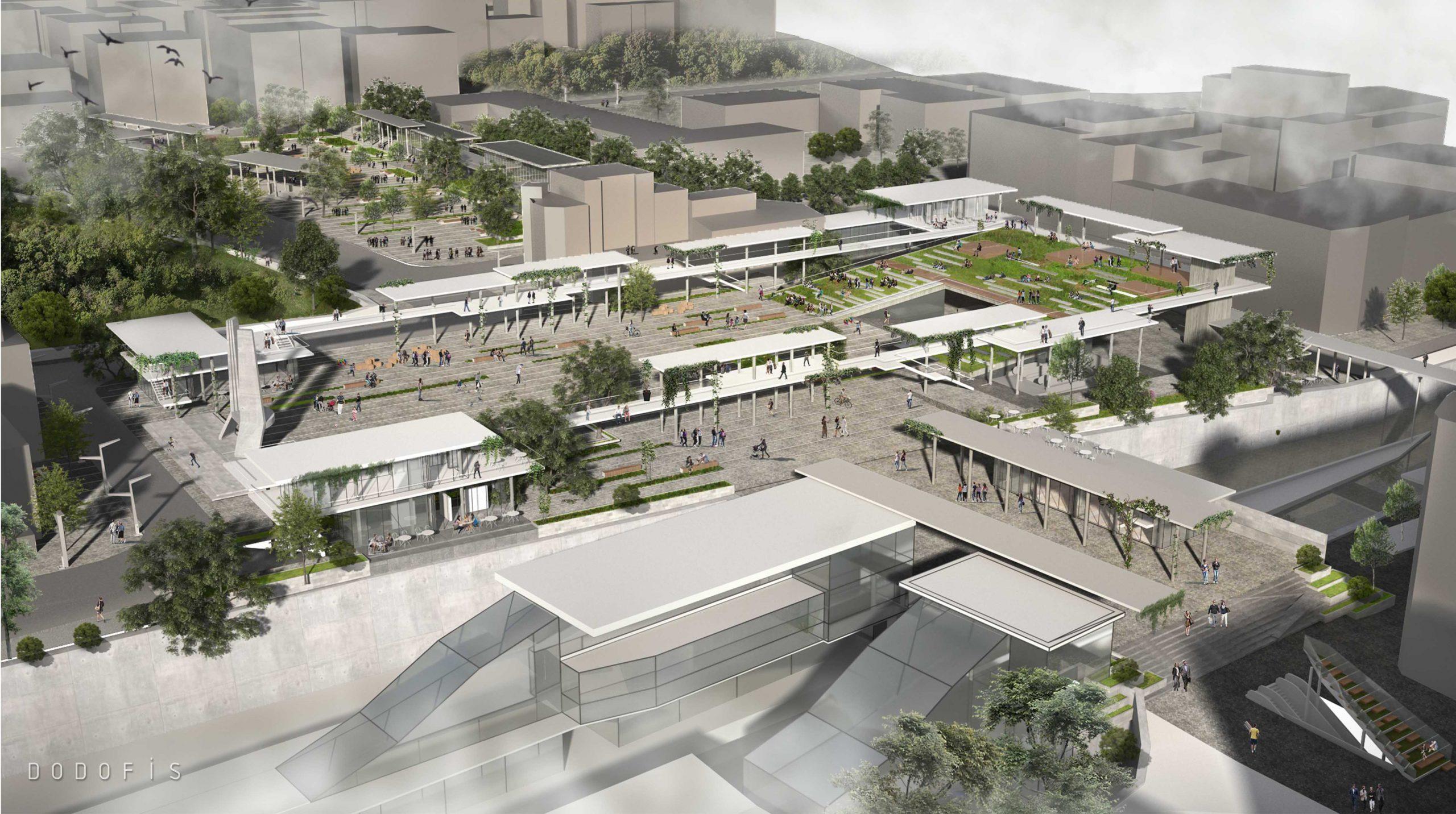 Bakırkoy republic square urban design competiton