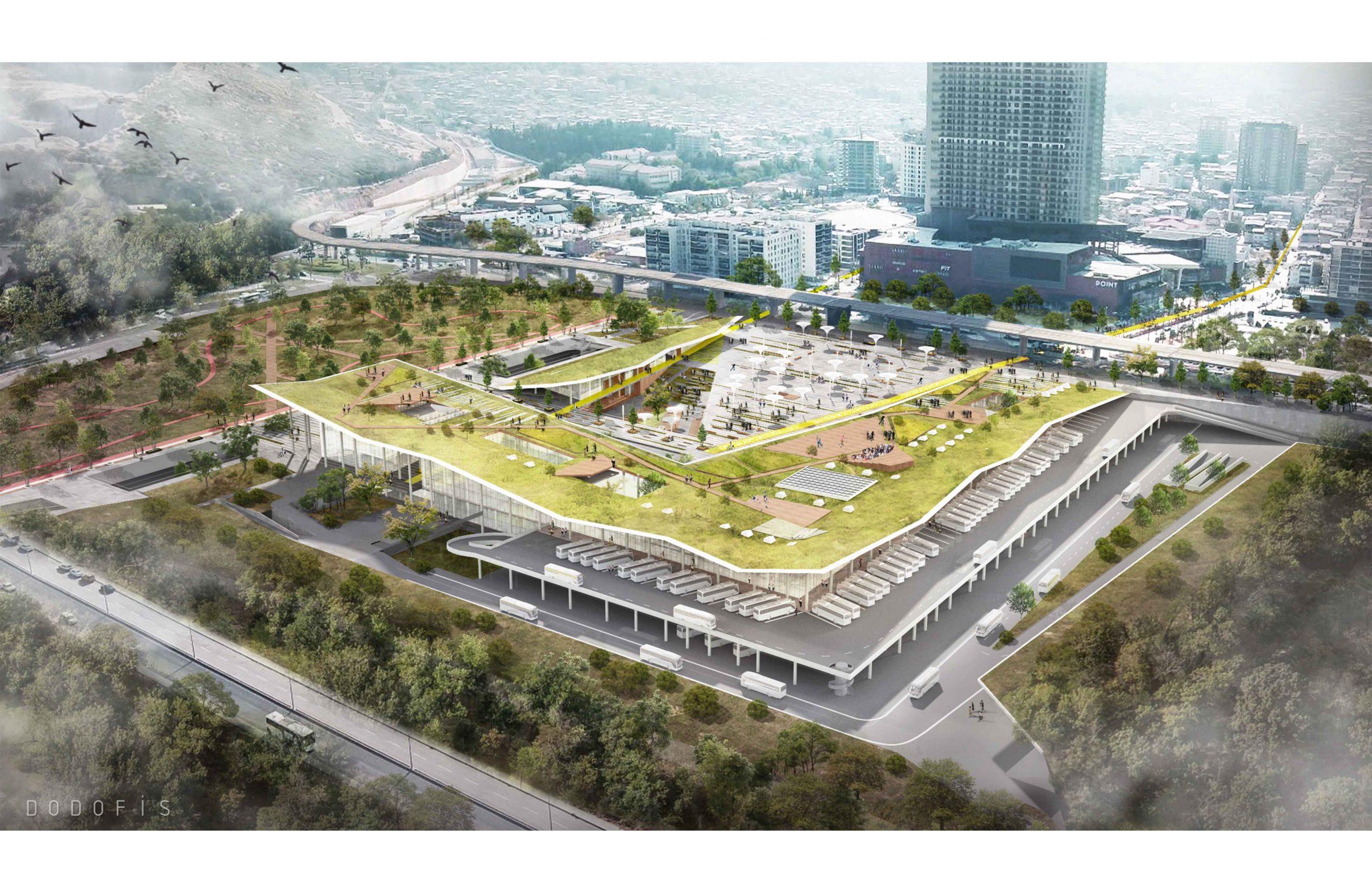 dodofis mimarlık izmir otogarı ana tranfer merkezi