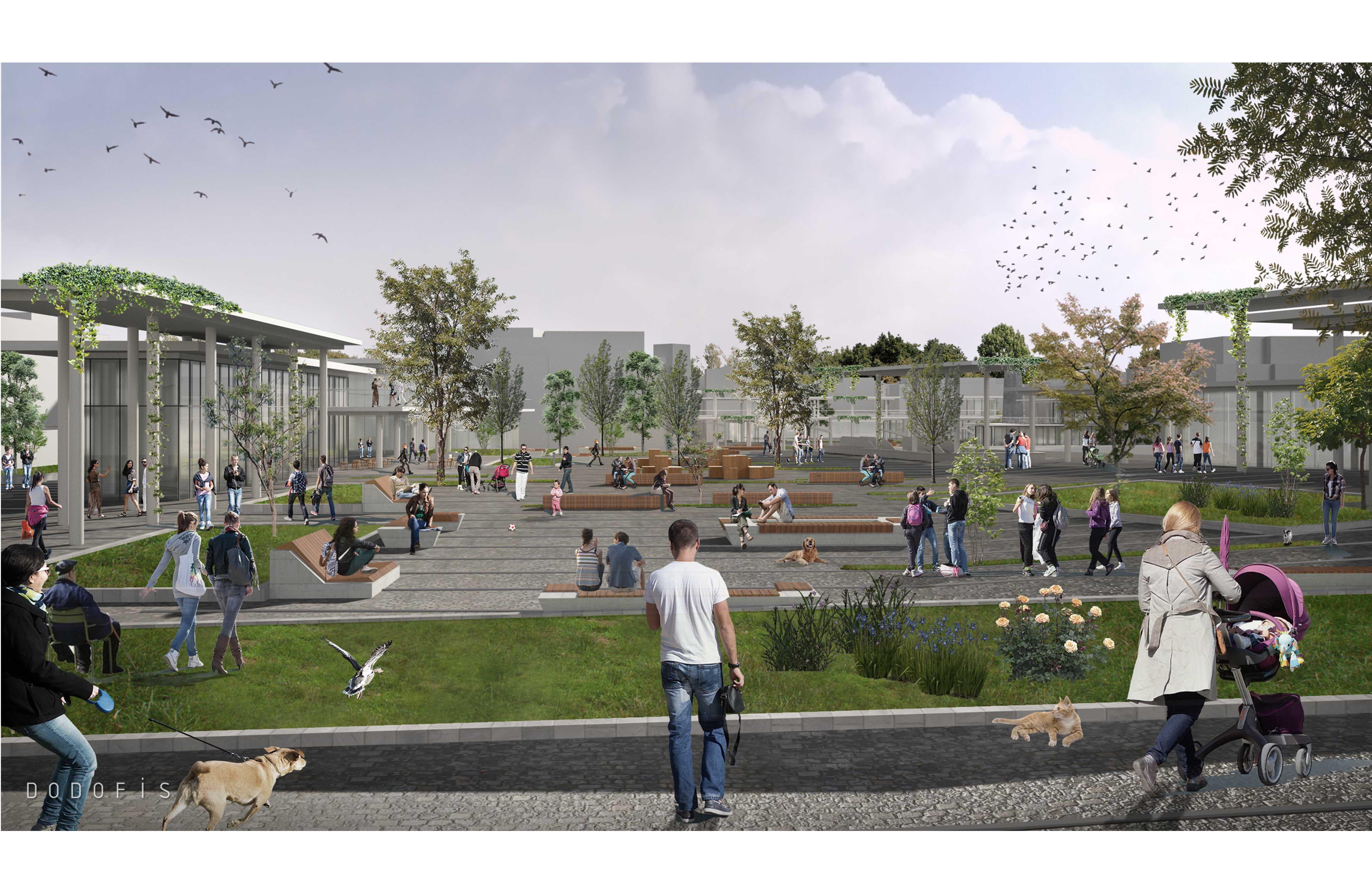 dodofis mimarlık bakırköy meydanı mimari proje yarışması