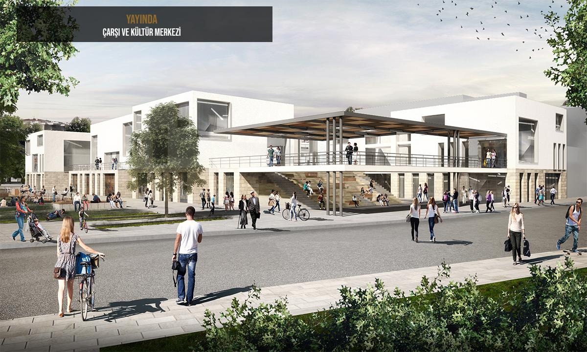 dodofis mimarlık alışveriş merkezi projesi