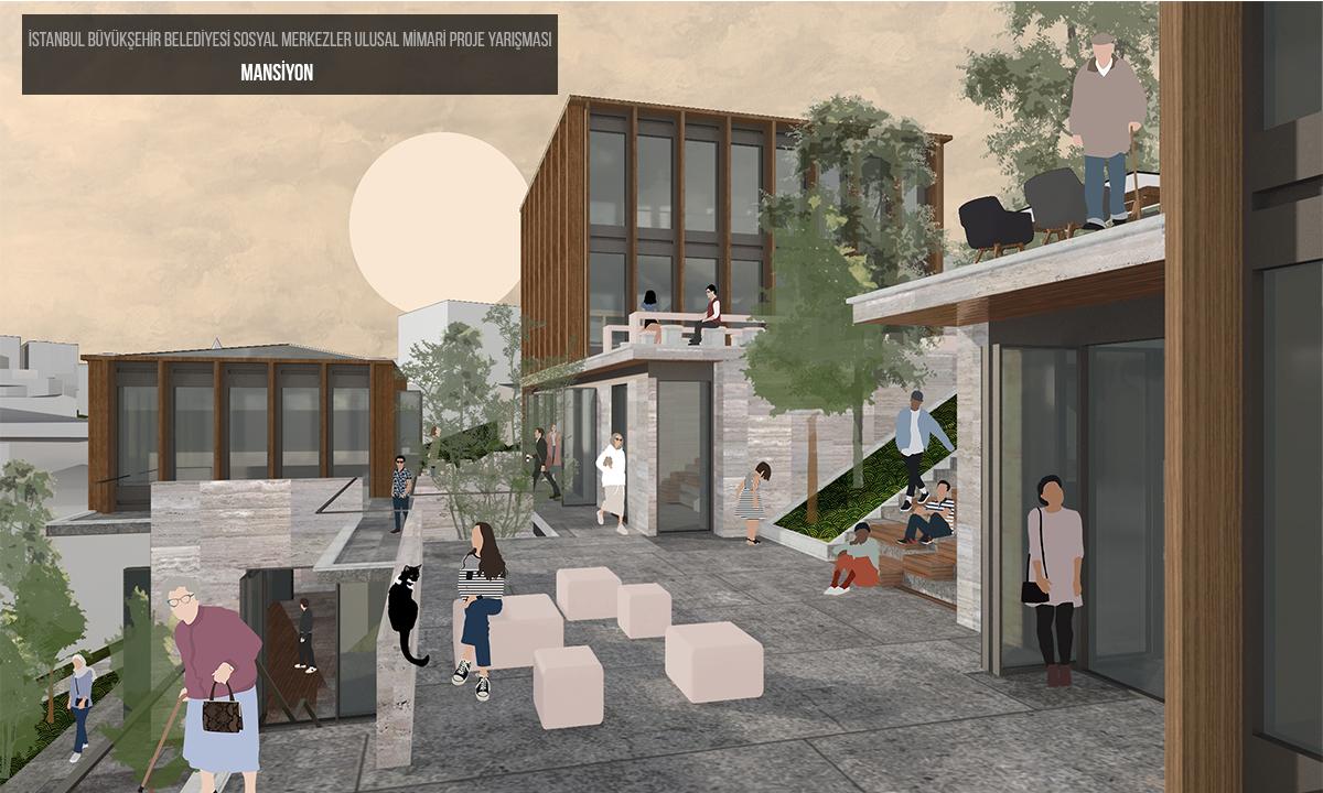 dodofis mimarlık İstanbul Büyükşehir Belediyesi sosyal merkez