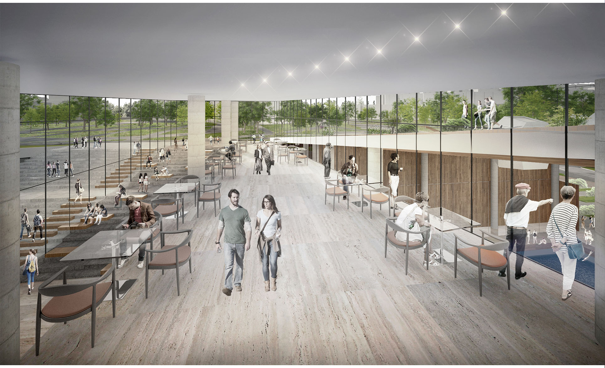 Dodofis mimarlık ofisi bursa kapalı spor salonu ve yüzme havuzu